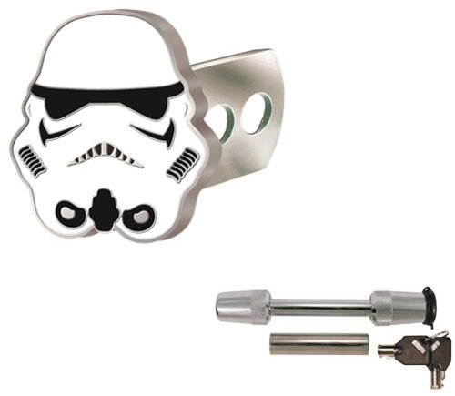 star-wars-storm-trooper-solid-metal-brushed-chrome-hitch-plug-receiver-cover-universal-receiver-hitc