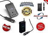 Kensington Inverter 150 W WATT 12 V 220 V Elektromotor für PKW Wohnwagen, Wohnmobil, Auto Energie, Wechselrichter DC 150 W Reise, 230 V AC tragbar, für Smartphones, Tablets, Laptop PC