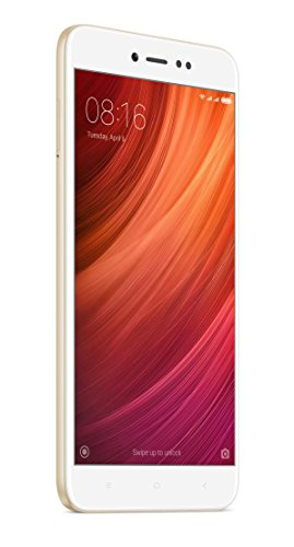 """Xiaomi Redmi Note 5A Prime - Smartphone Libre DE 5.5"""" (4G, WiFi, Bluetooth, Snapdragon 425 1.4 GHz, 32 GB de ROM Ampliable, 3 GB de RAM, cámara 13 MP, Android MIUI, Dual-SIM), Oro [versión española]"""