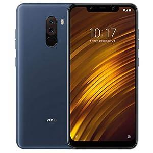 """Xiaomi Pocophone F1 - Smartphone Dual SIM de 6.18"""" (4G, Qualcomm Snapdragon 845 2.8 GHz, RAM de 6 GB, Memoria de 128 GB, cámara Dual, Android) Color Azul [Versión Española]"""