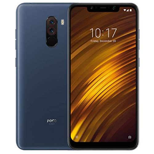 "Xiaomi Pocophone F1 - Smartphone Dual SIM 6:18"" (4G, Qualcomm Snapdragon 845 2.8 GHz, RAM 6 GB, memory 128 GB, GBal camera, Android) Color blue [Spanish version]"