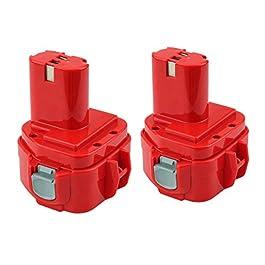 2X Reoben 1220 per Makita Batteria 12v 3000mAh Ni-MH pacchi Batterie PA12 1200 1201 1202 1220 1222 1233 1234 1235