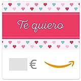 Cheques Regalo de Amazon.es - E-mail - Te Quiero (corazones rosados)