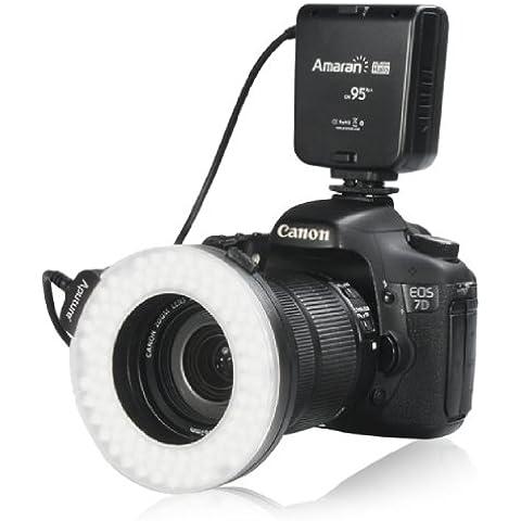Aputure® Amaran AHL-HN100 Anillos Alimentación de Led Flash CRI 95 para Nikon