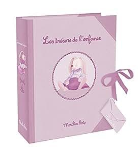 Moulin Roty - Coffret Cadeau les Trésors de l Enfance Lapin Lola 29x 23xcm