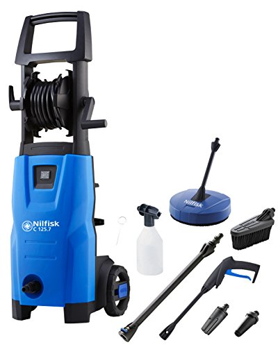Nilfisk C 125.7-6 Patio and Brush Pressure Washer - Blue