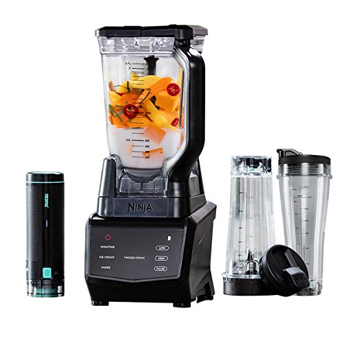 Ninja Smart Screen Blender with FreshVac Technology, CT660UKV, Black, Plastic & Metal 1100 W, 2.1 liters