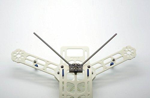 Dual / Single Antennen Empfänger Sockel 45° / 90° V3 - schwarz -