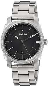 Fossil Herren-Armbanduhr XL Analog Quarz Edelstahl FS4773