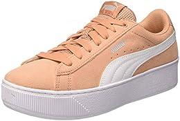 scarpe puma rosa e bianche