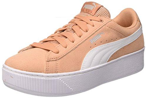Puma Damen Vikky Platform Sneaker, Pink (Dusty Coral White 15), 38.5 EU