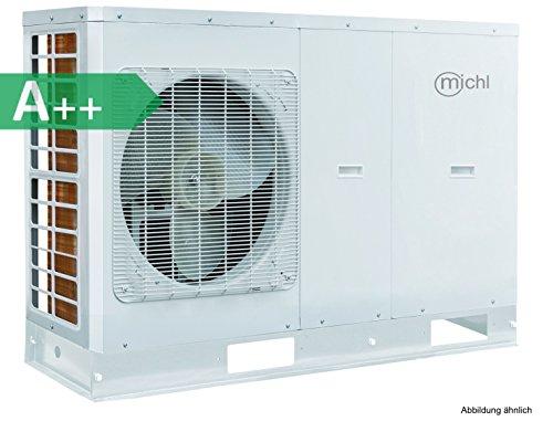 Michl Technik WVP-SM8 Inverter Luft-/ Wasser Wärmepumpe, weiss, Abmessungen (LxBxH) 1390x412x890 mm