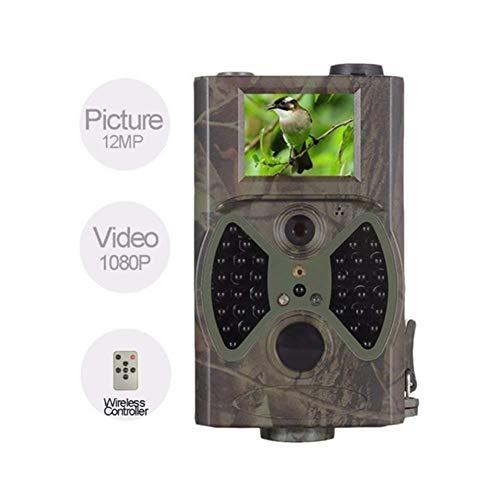 GXYGWJ Jagdkamera für den Außen- und Heimbereich, 1080P, HD, 12 MP, 940 NM, Nachtsicht, Infrarot-LED-Tracking, MMS, GPRS, Digitale Rekonnaissance, Jagd, Kamera, Messgerät -