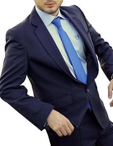 Keskin collection-costume-homme-bleu-neuf et tailles 44–60 90–106 et 29 Bleu