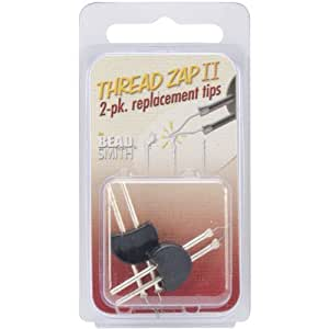 Thread Zap II Twin Pack Zapper Replacement Tips by Beadsmith