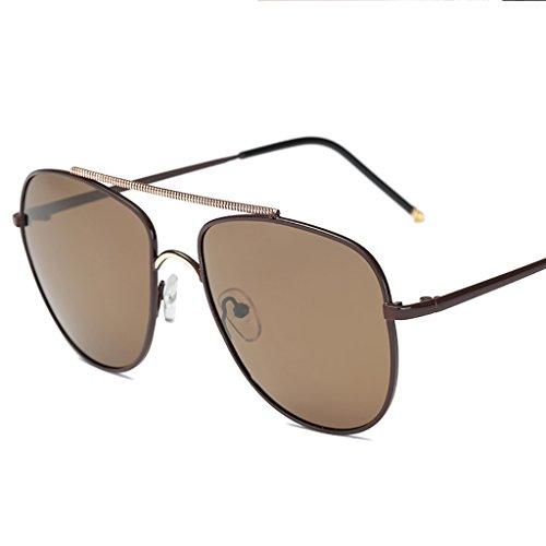 Ppy778 Klassische Männer Frauen Runde Sonnenbrillen Metall Eyewear Fashion Shades Outdoor (Color : D)
