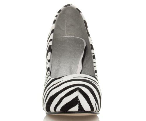 Significa Bassi Scarpe Dimensioni Donna Pattini Accurato Tallone Camoscio Zebra Da Del Di Elegante Lavoro YqTHwRq