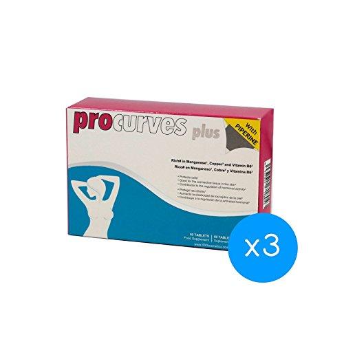 3 Procurves Plus: Pillen für natürliches brustvergrößerung
