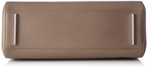HUGO Norah-S 10184030 01, Shopper Femmes, 34x29x17 cm Beige (Dark Beige 250)