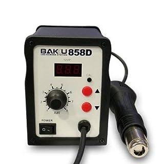Hot soldering Station air, Soldering Gun precision decapeur 858D Thermal BK