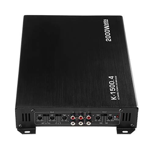 Kungfu Mall DC 12V Auto 4 Kanäle 2000W Auto Audio Verstärker Power Stereo Amp - Amp Watt Auto 2000