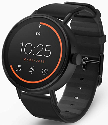 misfit orologio digitale uomo con cinturino in silicone mis7200
