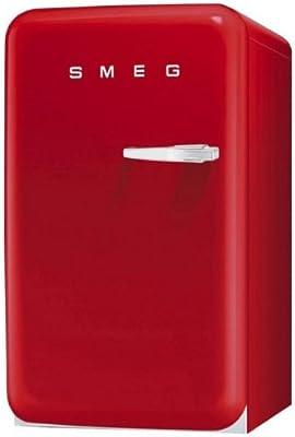 Smeg FAB10LR - Frigorífico Mini Fab10Lr Con Estantes De Cristal