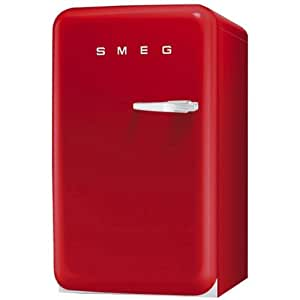 Smeg FAB10LR freestanding 114L A+ Red combi-fridge - combi-fridges (Freestanding, Red, Left, 114 L, 120 L, SN)