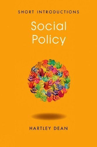 Social Policy (Polity Short Introductions) by Dean, Hartley (2012) Paperback