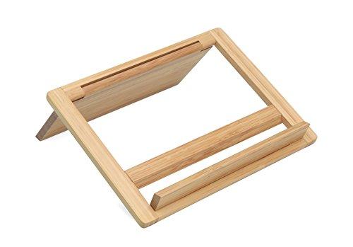 Kochbuchständer aus Holz, Buchenholz