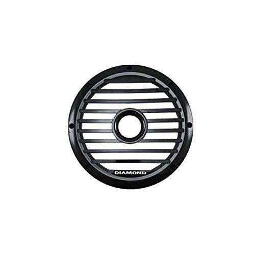 Diamond Audio MS10GRLB 10 Zoll 25cm Marine Subwoofer Grill, schwarz -