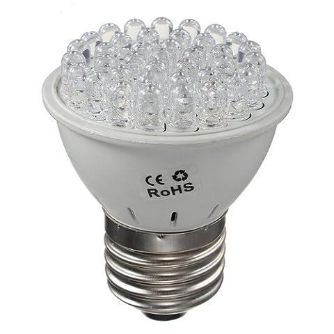 Sonline E27 1.9W 38 LED Plante Croissance Lampe Floraison Horticole hydroponique Ampoule