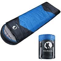 CANWAY Sac de Couchage Portable Sac Couchage Adulte pour Camping, 2-3 Saisons en Matériau Imperméable 1.9kg