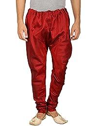 Larwa Men's Dupion Silk Chudidar Pyjama