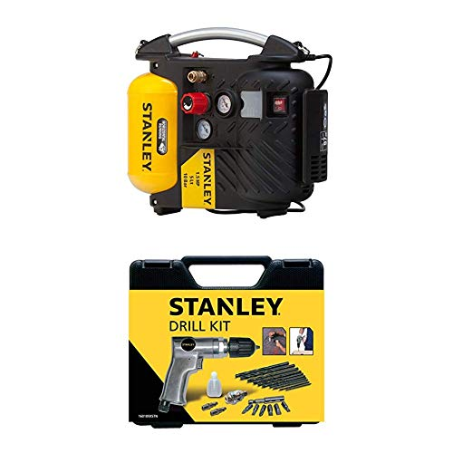 STANLEY Compressor DN200/10/5 + Drill Kit