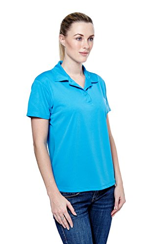 Uneek Ladies Ultra Cool Polo Shirt 140gsm 100% Breathable Polyester - 7 Colours Available