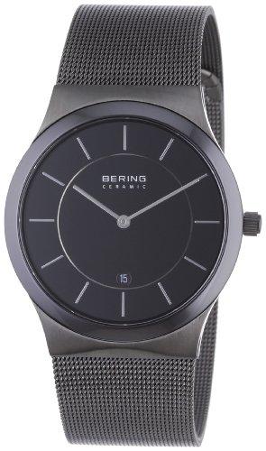 Bering Time - 32239-342 - Montre Homme - Quartz Analogique - Bracelet Acier Inoxydable Noir