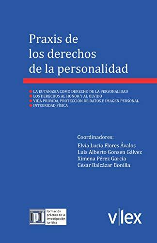 Praxis de los derechos de la personalidad (Formación Práctica de la Investigación Jurídica nº 1) por Elvia Flores Ávalos