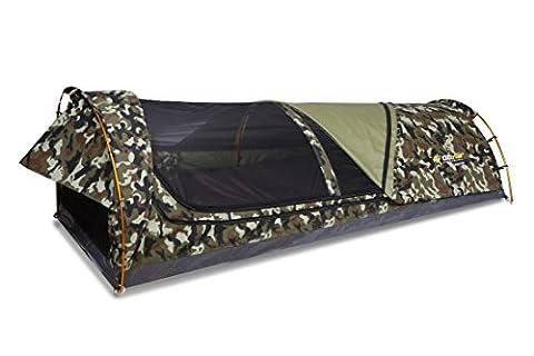 Mitchell Tactix Swag–Autentica Shop Swag australischen 90x 210x 70cm Turnmatte 6cm inklusive. Camouflage.