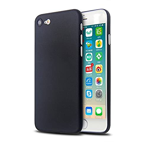 Obsyn PP Protective Case Silicone Case for iPhone 6 (4.7 Inch) Ultra Thin 0.35mm - Black