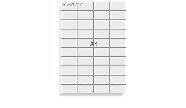 Avery 3786 Permanente Bianco 30pezzo etichetta autoadesiva i