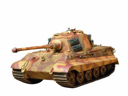 Tamiya 300035164 - 1:35 WWII SdKfz.182 Panzer VI Königstiger(1) (35 1 Tamiya Tiger)
