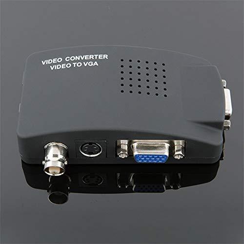 - Component-rca-audio-kit (Shentesel BNC auf VGA Video PC Konverter Adapter Koaxial Monitoring Host Device to Display - Schwarz)