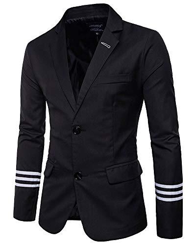 Yanlian Hombre Chaqueta de Traje para Chaquetas de Vestir Blazer Casual Mejor Hombre Fiesta Traje Ajustado...