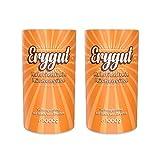 Erygut Basic 2 x 1kg / 1000g | Kalorienfreier Zuckerersatz aus Erythrit | Süßungsmittel für Low Carb und Ketogene Diät | zum Süßen, Kochen und Backen | Foodtastic Erythritol Light