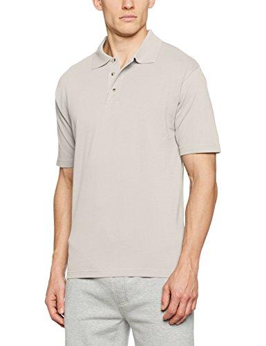 James & Nicholson Herren Poloshirt Polo-Piqué Medium Grau (Light-Grey)