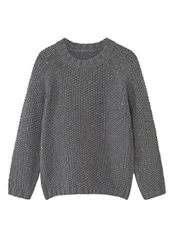 mango-kids-pull-over-en-coton-et-pull-laine-taille9-10-ans-couleurgris