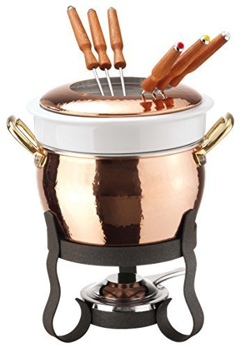 Paderno World Cuisine Copper Fondue Set by World Cuisine
