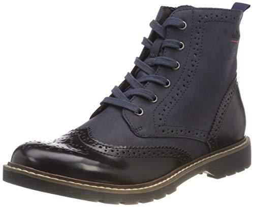 s.Oliver Damen 25465-21 Combat Boots, Blau (Navy Comb. 891), 39 EU