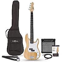 LA Bass Guitar + 15W Amp Pack, Natural